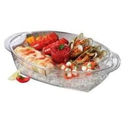Prodyne Buffet on Ice 4 Compartment Vented Food Tray