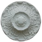 Hickory Manor House Acanthus Ceiling Medallion; Unfinished