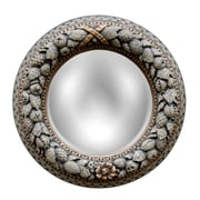 Hickory Manor House Nut Ring Mirrored Ceiling Medallion; Verona