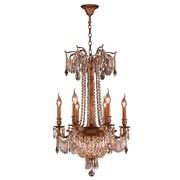 Worldwide Lighting Winchester 9-Light Crystal Chandelier