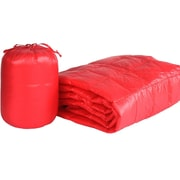 PUFF Ultra Light Indoor/Outdoor w/ Compact Travel Bag Throw; Coral