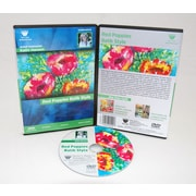 Weber Art Kathi Hanson Watercolor Poppies Batik Style 1 Hour DVD