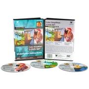 Weber Art Joanna Coke Watercolor 168 Minute 3 Disc DVD Set