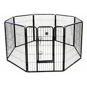 Go Pet Club Heavy Duty Play and Exercise Pet Pen; 24'' H x 30'' W x 1'' D