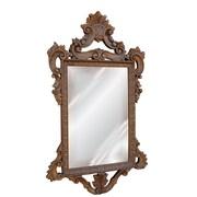 Hickory Manor House Templar Mirror; Antique Gold