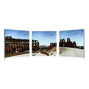 Artistic Bliss Tunisia Monuments 3 Piece Framed Photographic Print Set