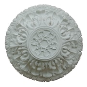 Hickory Manor House Acanthus Deep Ceiling Medallion; Unfinished