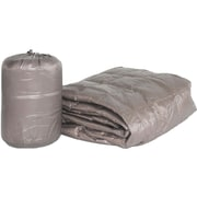 PUFF Ultra Light Indoor/Outdoor w/ Compact Travel Bag Throw; Taupe