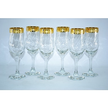 Three Star Flute/Champagne Glass (Set of 6)