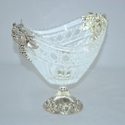 Three Star Tabletop Glass Serving Bowl