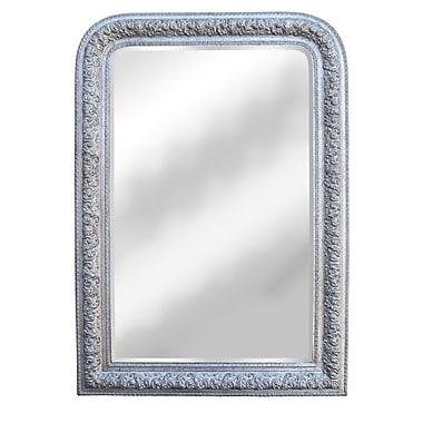 Hickory Manor House Napoleon III Mirror; Shimmer