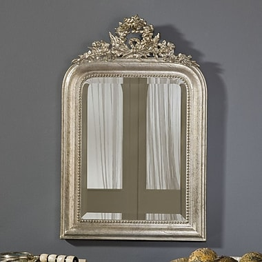 Hickory Manor House Wreath Mirror; Shimmer
