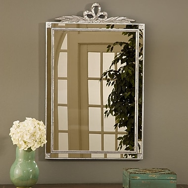 Hickory Manor House Old World Mirror w/ Side Glass; Shimmer