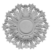 Hickory Manor House Acanthus Pierced Ceiling Medallion; Unfinished