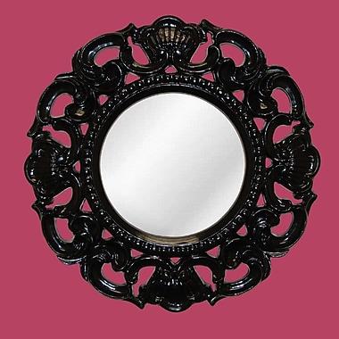 Hickory Manor House Clarity Mirror; Gloss Black
