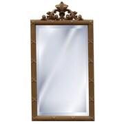 Hickory Manor House Dunbar Mirror; Antique Gold
