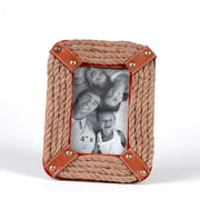 Wilco Home Rope Picture Frame; 9'' H x 6.75'' W x 1'' D