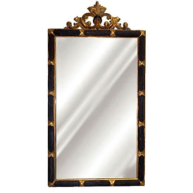 Hickory Manor House Dunbar Mirror; Black/Gold