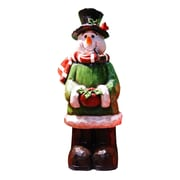 Alpine Snowman Garden Statue Christmas Decoration