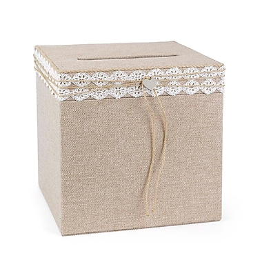 Hortense B. Hewitt Wedding Accessories Rustic Romance Card Box