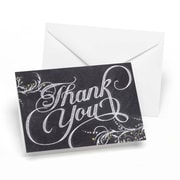 Hortense B. Hewitt, Whimsical Chalkboard Thank You Cards