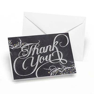 Hortense B. Hewitt, Whimsical Chalkboard Thank You Cards