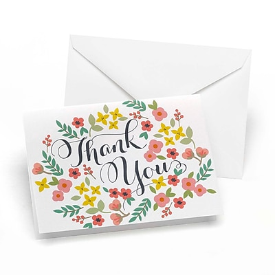 Hortense B. Hewitt, Thank You Card