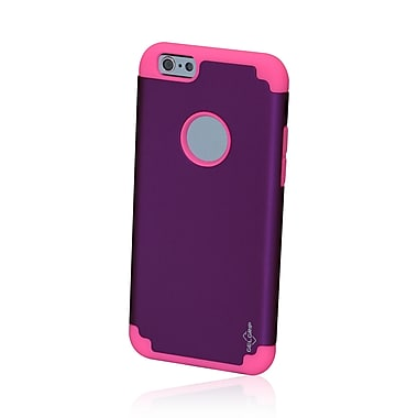 GelGrip iPhone 6 DualKase Shell Cover, Purple/Pink