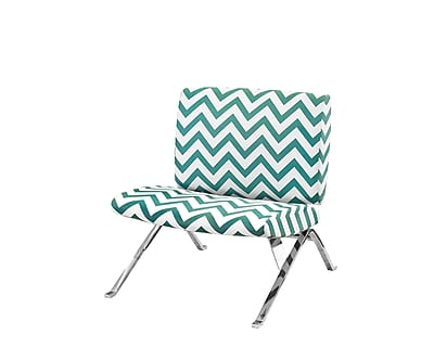 Monarch Specialties Inc. I 8136 Fabric Accent Chair, Teal