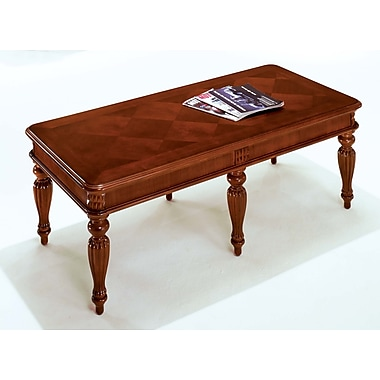 Antigua Antigua Wood/Veneer Coffee Table, Brown, Each (7480-40)