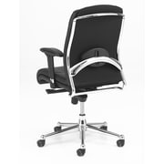 Derby Derby Fabric Computer and Desk Office Chair, Adjustable Arms, Black (6302-80B)