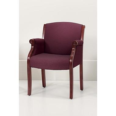 DMI Office Furniture Keswick 68552205 Fabric Guest Chair, Cherry