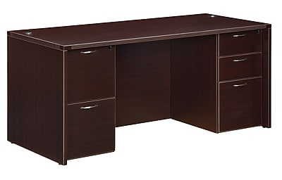 DMI Office Furniture Fairplex 700431 29 Laminate Executive Desk
