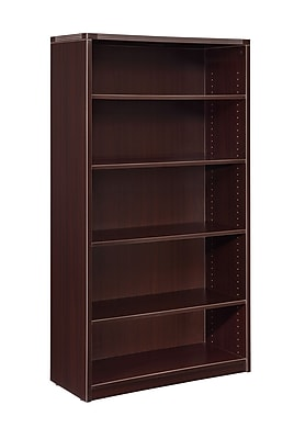 Fairplex Fairplex 36'' 5-Shelf Bookcase, Mocha (7004-829)