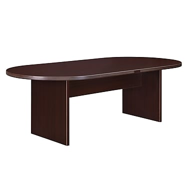 DMI Office Furniture Fairplex 95'' Oval Conference Table, Mocha (7004-723)