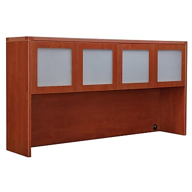 DMI Office Furniture Fairplex 7005428FG 2-Cabinet Overhead Storage, Frosted Glass Doors