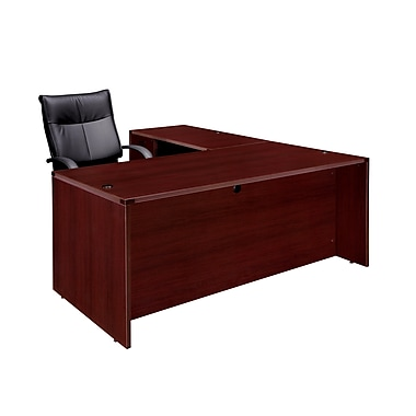 Dmi Office Furniture Fairplex 70064748e 29 Laminate Right Left Executive L Desk Mahogany