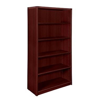 Fairplex Fairplex 36'' 5-Shelf Bookcase, Mahogany (7006-829)
