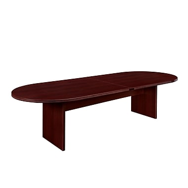 DMI Office Furniture Fairplex 120'' Oval Conference Table, Mahogany (7006-727)