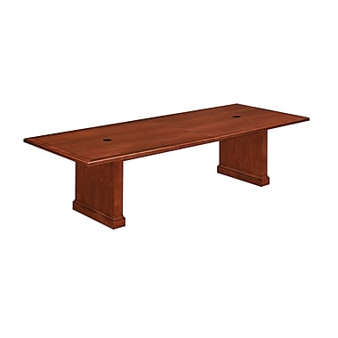 DMI Office Furniture Belmont 42'' Rectangular Conference Table, Brown Cherry (7132-120REX)