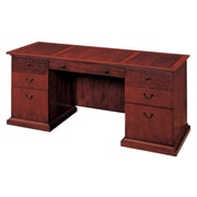 "DMI Office Furniture Del Mar 730221 30"" Wood/Veneer Kneehole Credenza, Sedona Cherry"