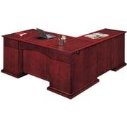 """DMI Office Furniture Del Mar 730248 30"""" Wood/Veneer Left Executive L Desk, Sedona Cherry"""
