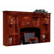 DMI Office Furniture Del Mar 730262 3-Cabinet Overhead Storage, Sedona Cherry