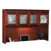 DMI Office Furniture Del Mar 7302404 4-Cabinet Wall Mountable Overhead Storage, Sedona Cherry
