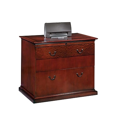 DMI Office Furniture Del Mar 2 Drawer Lateral File, Cherry,Letter/Legal, 36''W (7302-16)
