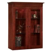 "DMI Office Furniture Del Mar 7302248 48.25"" Wood/Veneer Closed Bookcase, Sedona Cherry"