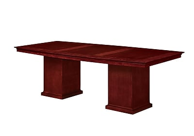 DMI Office Furniture Del Mar 730296 Veneer Boat Top Conference Table, 30
