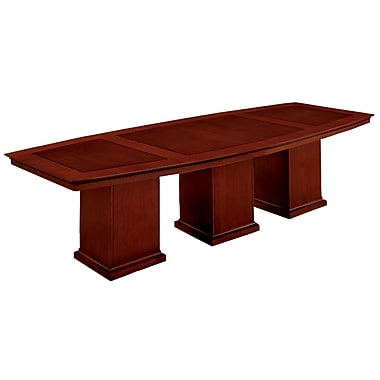 DMI Office Furniture Del Mar 7302144 Veneer Boat Top Conference Table, 30