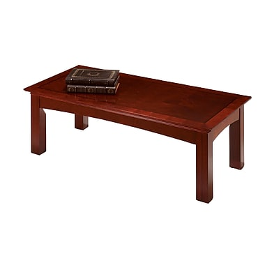 Del Mar Del Wood/Veneer Coffee Table, Cherry, Each (7302-40)