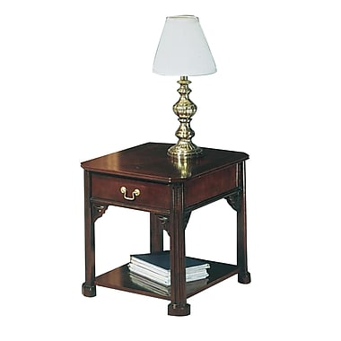 Governors Governors Laminate End Table, Mahogany, Each (7350-81)